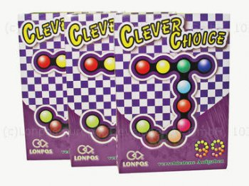 Hlavolam  LONPOS IQ Puzzler - Junior J99 Clever Choice