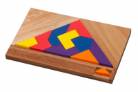 Fuji Puzzle mixed colour