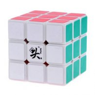 3x3x3 DaYan V ZhanChi Magic Cube White