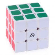 57mm Funs Puzzle ShuangRen II Magic Cube White