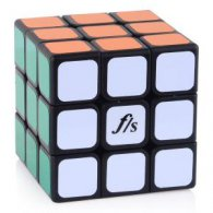 57mm Funs Puzzle ShuangRen II Magic Cube Black