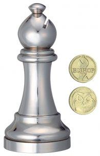 Hanayama Cast Chess Bishop