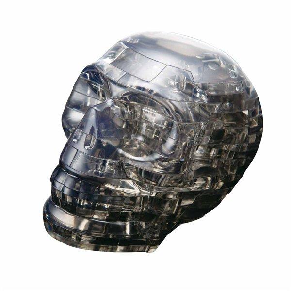 Skládanka Lebka černá - 3D Krystal puzzle