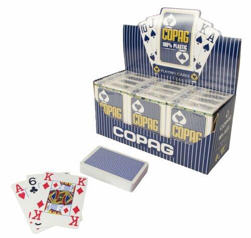 Karty Poker Bridge modré
