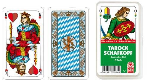 Karty Tarock/Schafkopf bayerisches Bild