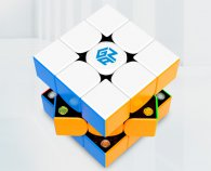 GAN354 M 3x3x3 Magnetic Speed Cube Stickerless