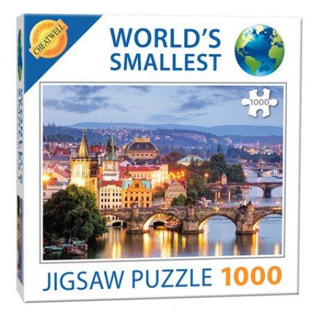 Nejmenší puzzle světa Pražské mosty 1000
